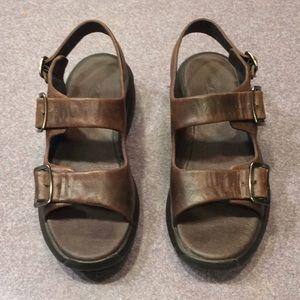 MBT Katika Slingback Toning Sandals EUC